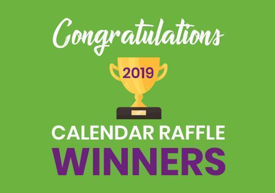 Calendar Raffle Winners 2019