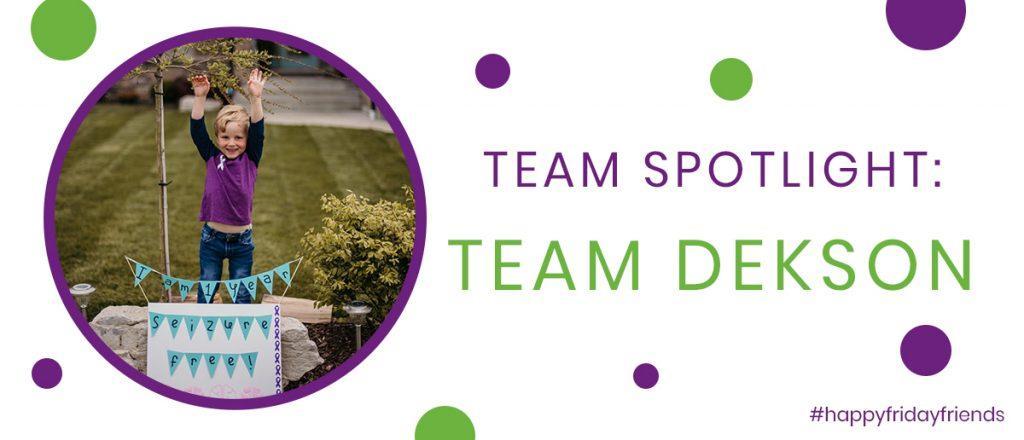 Team Spotlight: Team Dekson