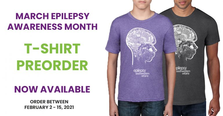 March Epilepsy Awareness Month T-Shirt Pre-Order