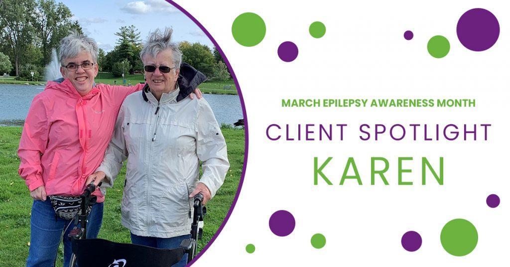 Client Spotlight: Karen