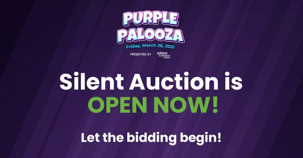 Silent Auction NOW OPEN