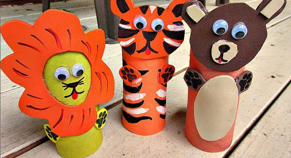 Wacky Weekday Camp: Toilet Paper Roll Zoo